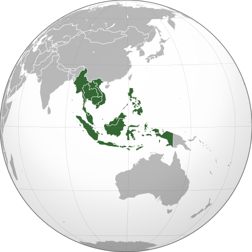 Southeast Asia Hindi Meaning