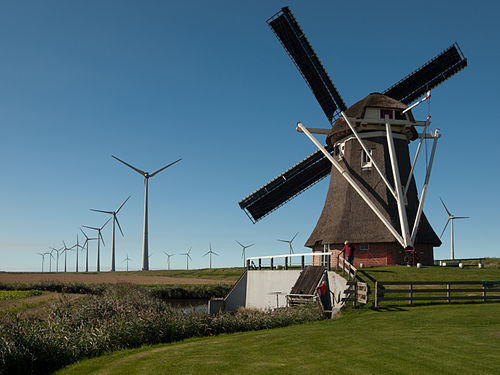 Windmill | Urdu Meaning of Windmill
