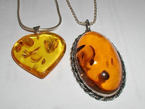 amber in greek