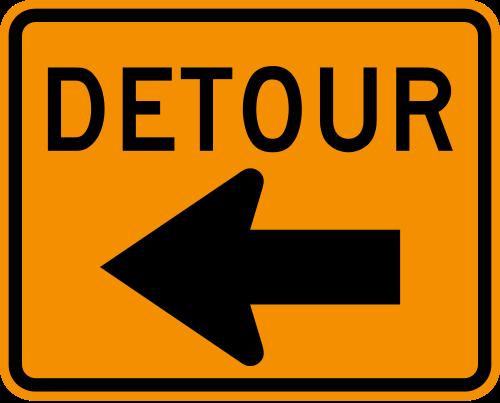 Detour   Definition and more for Detour