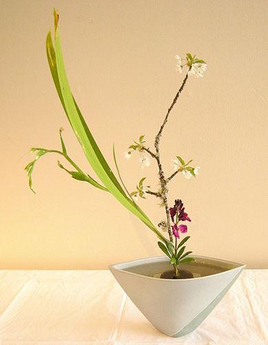 Ikebana Arabic Language Meaning