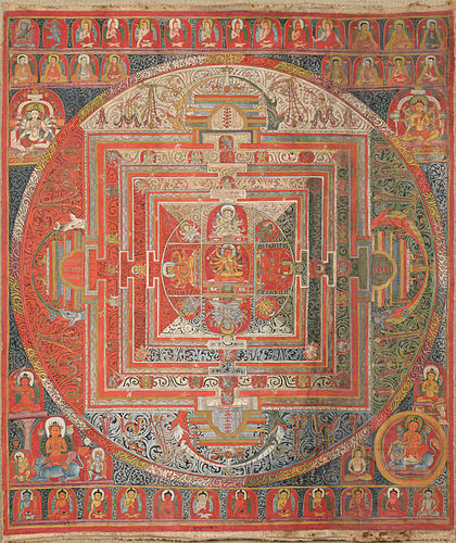 Mandala   Urdu Meaning of Mandala