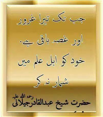 Jab Tak Tera Guroor Aur Gussa Baqi Hai.