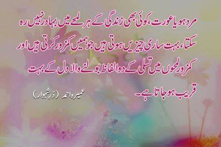 urdu quotes and sayings by famous people