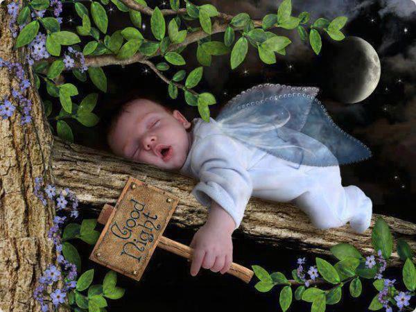 good night sleeping baby