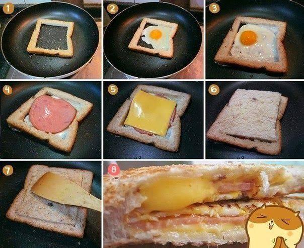 Завтрак рецепты простые с фото для детей