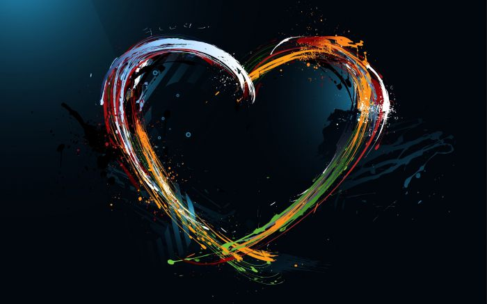 Love Abstract Design